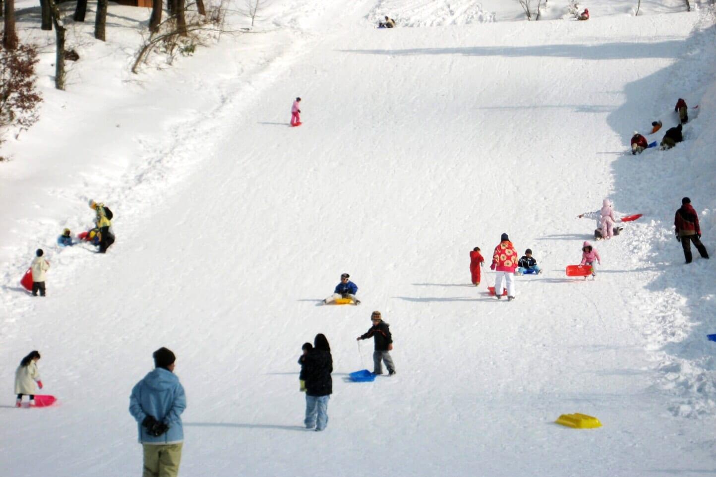 母袋キャンプ・スキー場 スライダー画像4