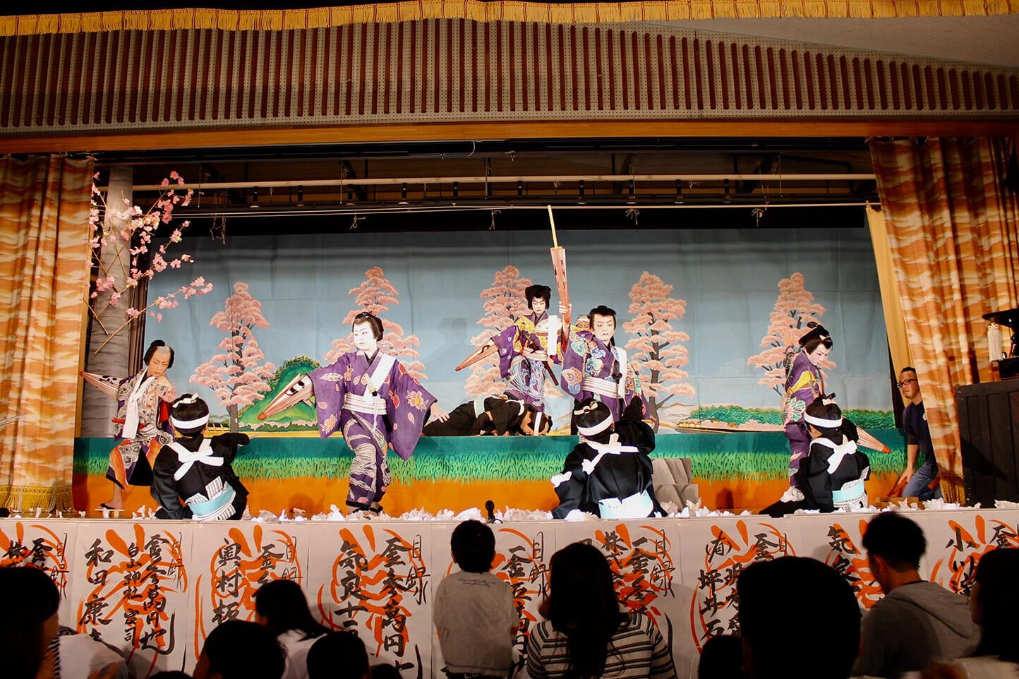 気良歌舞伎 スライダー画像3
