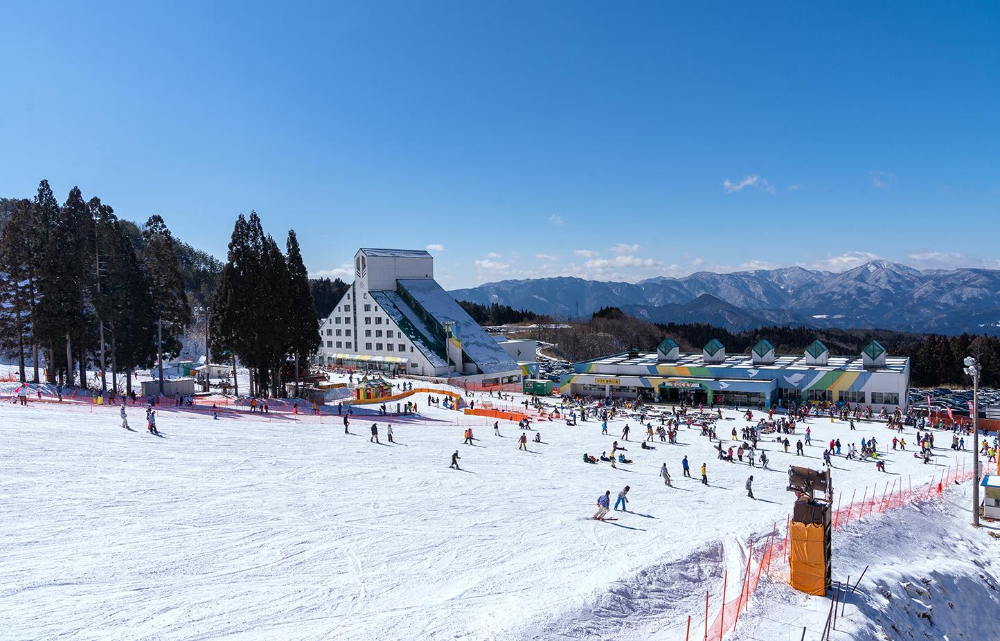 鷲ヶ岳スキー場 スライダー画像1