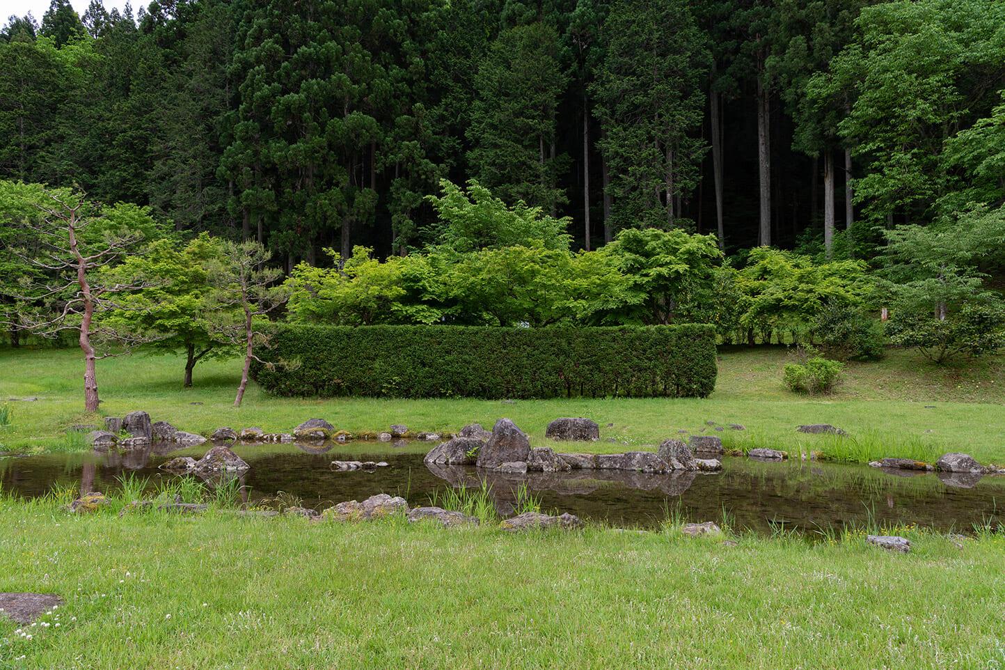 東氏館跡庭園(古今植物園) スライダー画像3