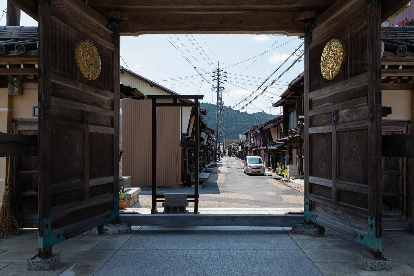 古い町並み スライダー画像1