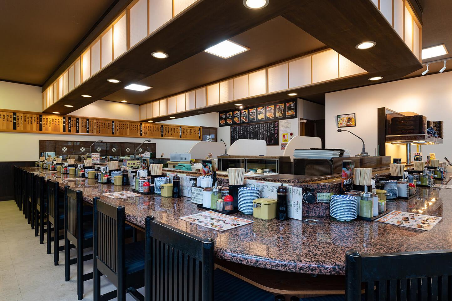 回転寿司 海鮮 スライダー画像3