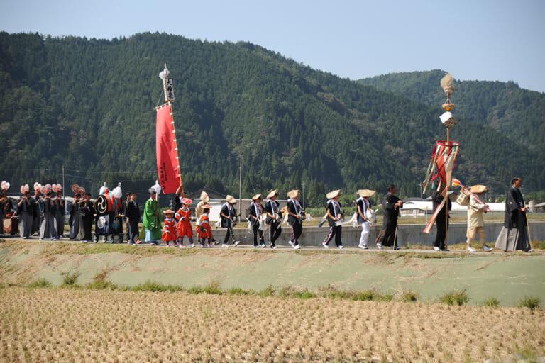 戸隠神社祭礼(九頭の祭)