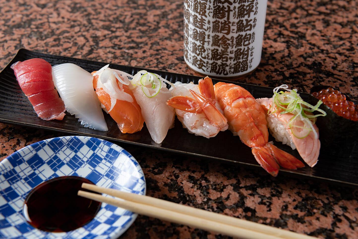 回転寿司 海鮮 スライダー画像1