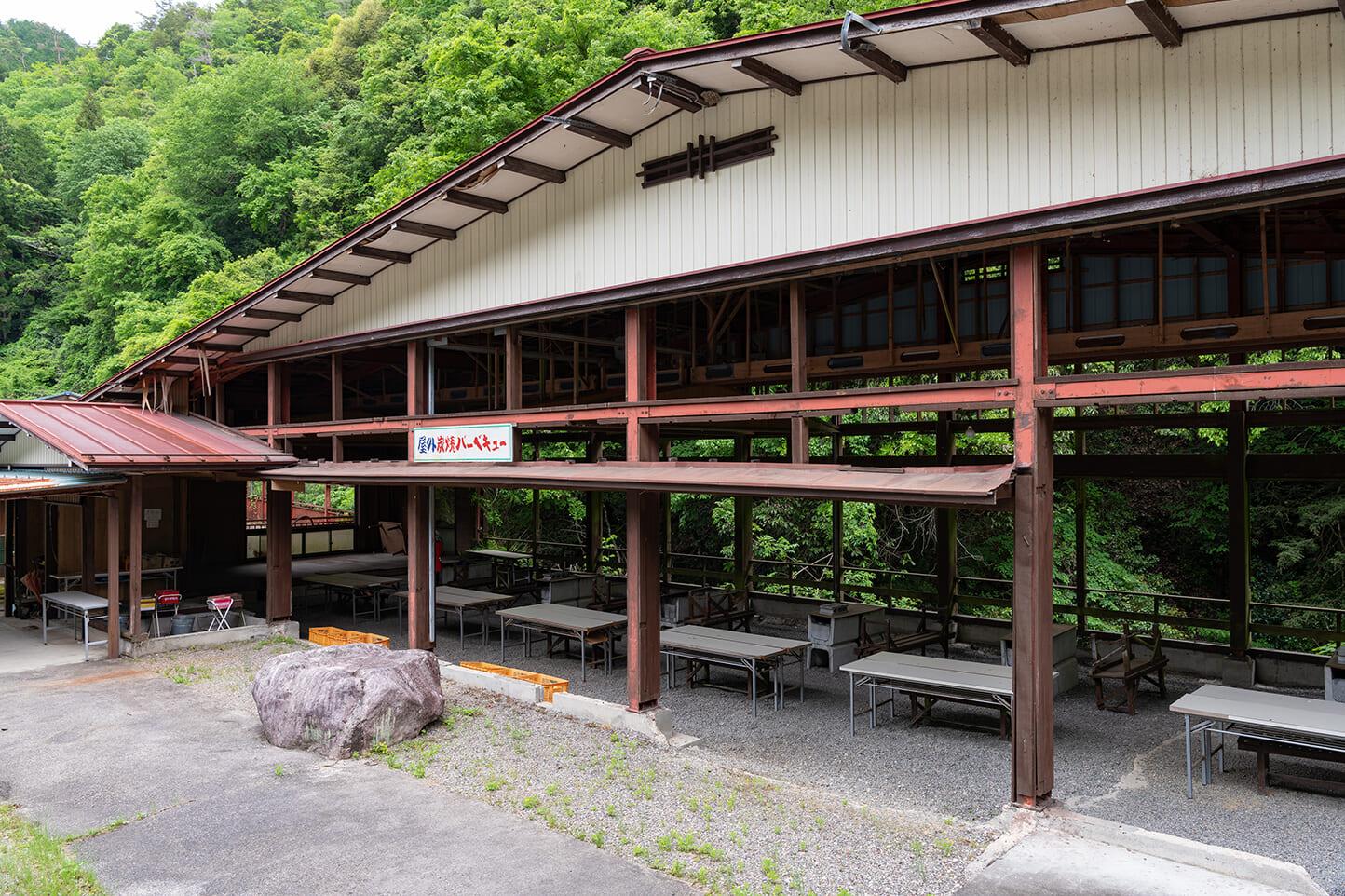 釜ヶ滝バーベキューセンター スライダー画像2