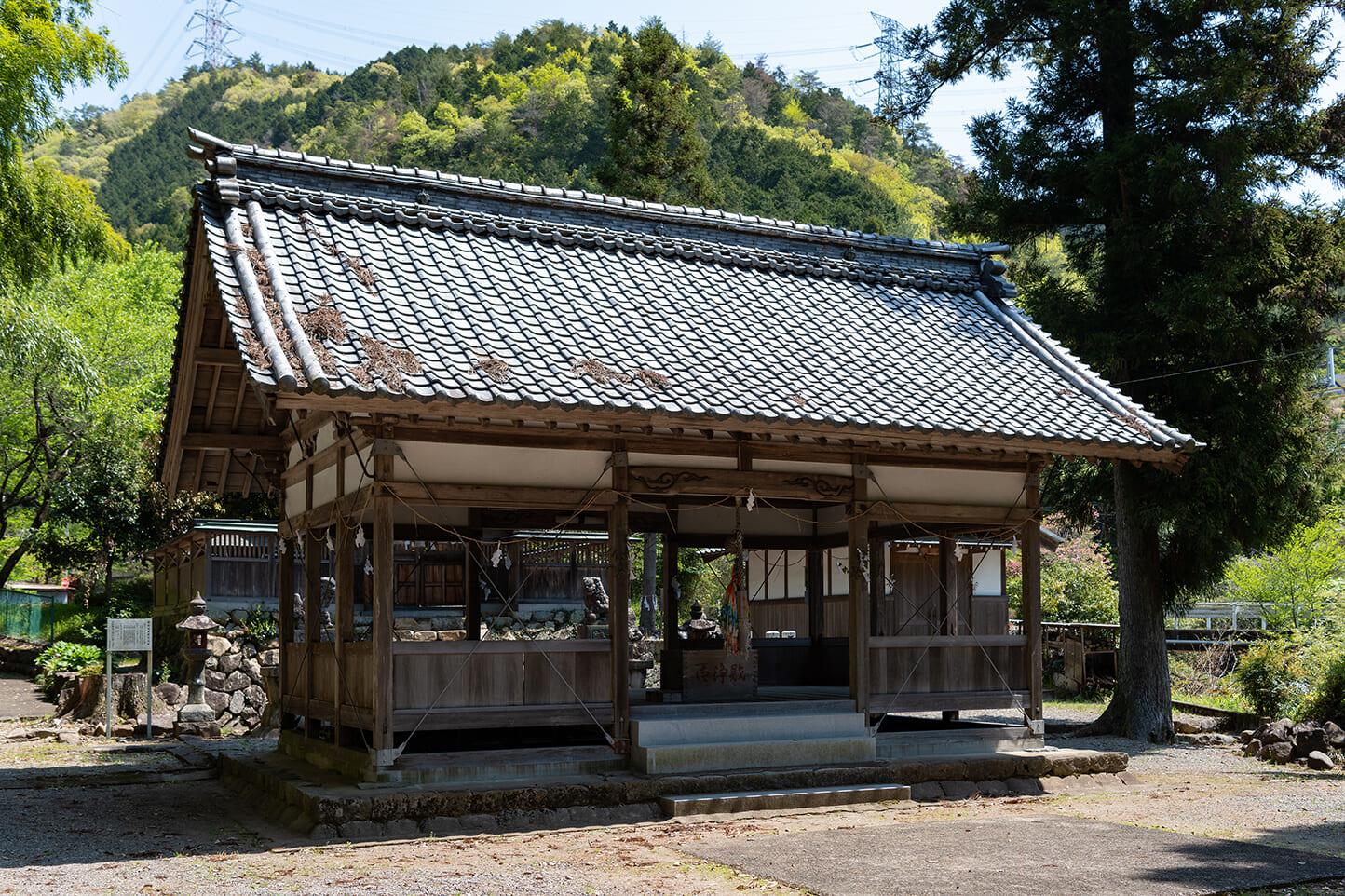 子安神社(平成の人口重心地の碑) スライダー画像3