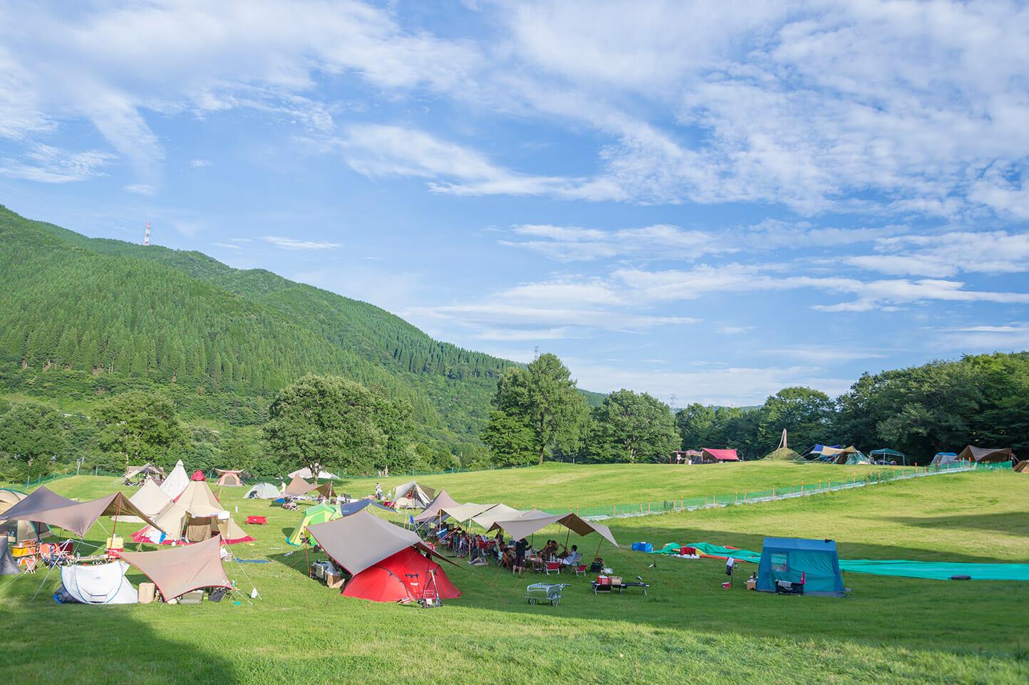 めいほう高原キャンプフィールド スライダー画像1