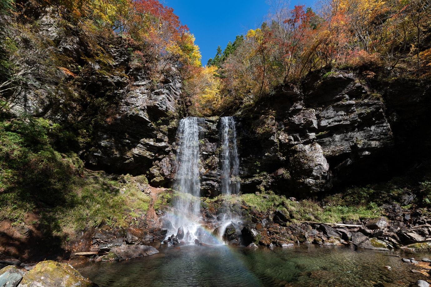 夫婦滝の紅葉 スライダー画像1