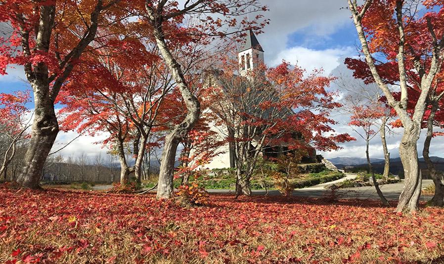 牧歌の里の紅葉 スライダー画像2