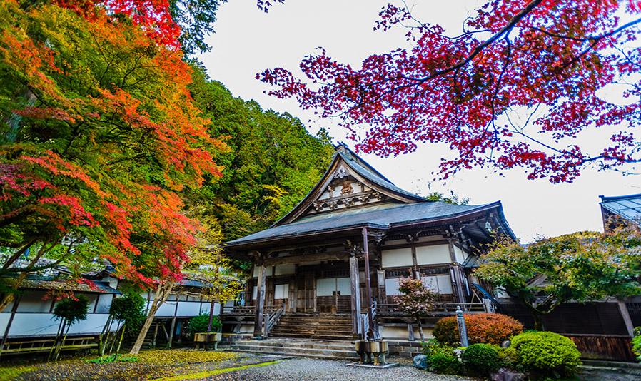 大乗寺の紅葉 スライダー画像1