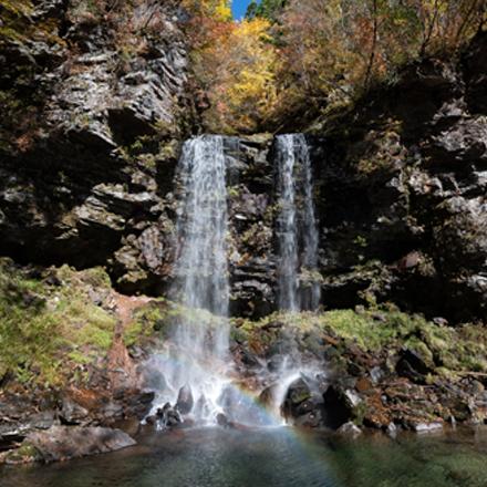 <M_026>夫婦滝と長良川源流湧水 多くの命と歴史を育む「長良川」の源流域
