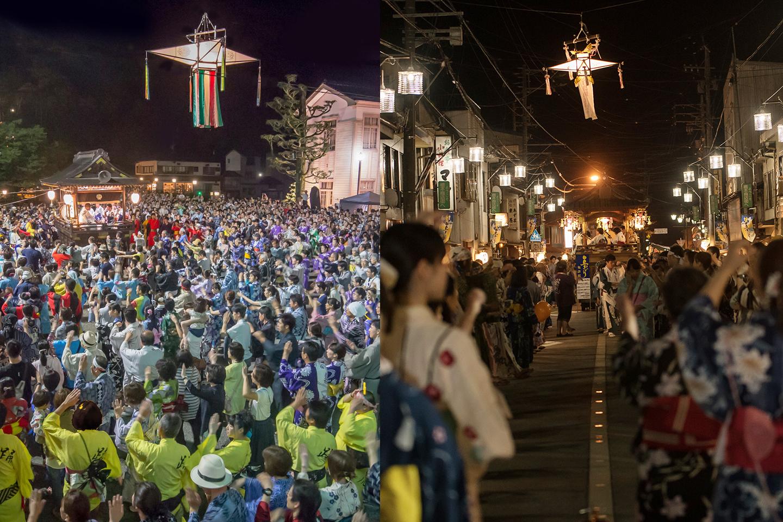 日本一のおどりのまち郡上 令和3年度郡上おどり、白鳥おどりの日程(案)が発表されました!