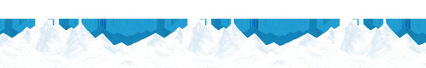 雪山イラスト