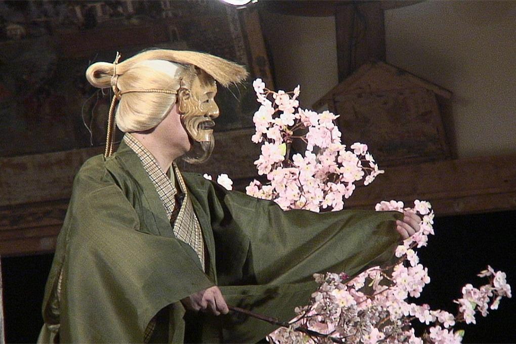 薪能くるす桜8