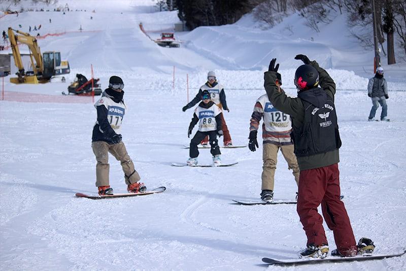 ウイングヒルズスキースノーボードスクール1