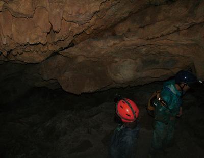 全体学習洞窟探検(ケービング)